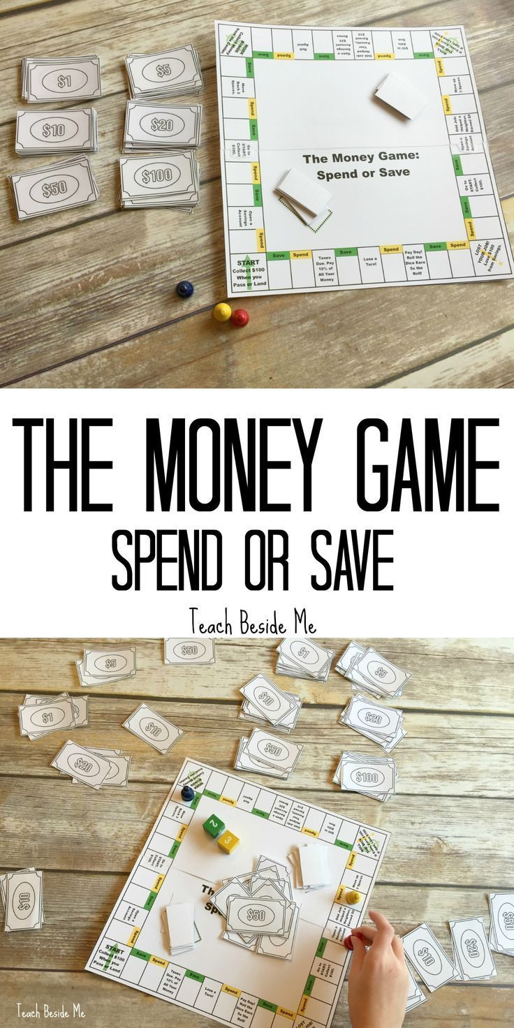 The Money Game- a Creative idea for teaching money to kids!