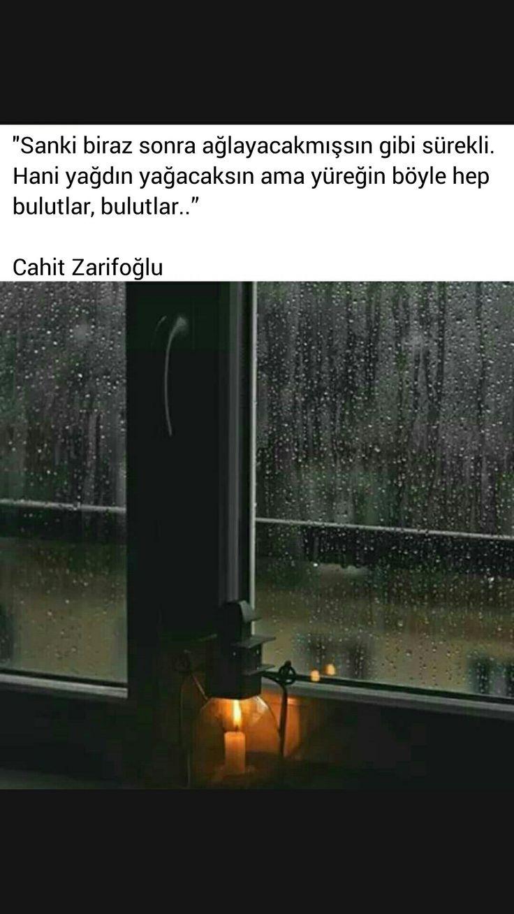 ⭐️Sanki biraz sonra ağlayacakmışsın gibi Cahit Zarifoğlu