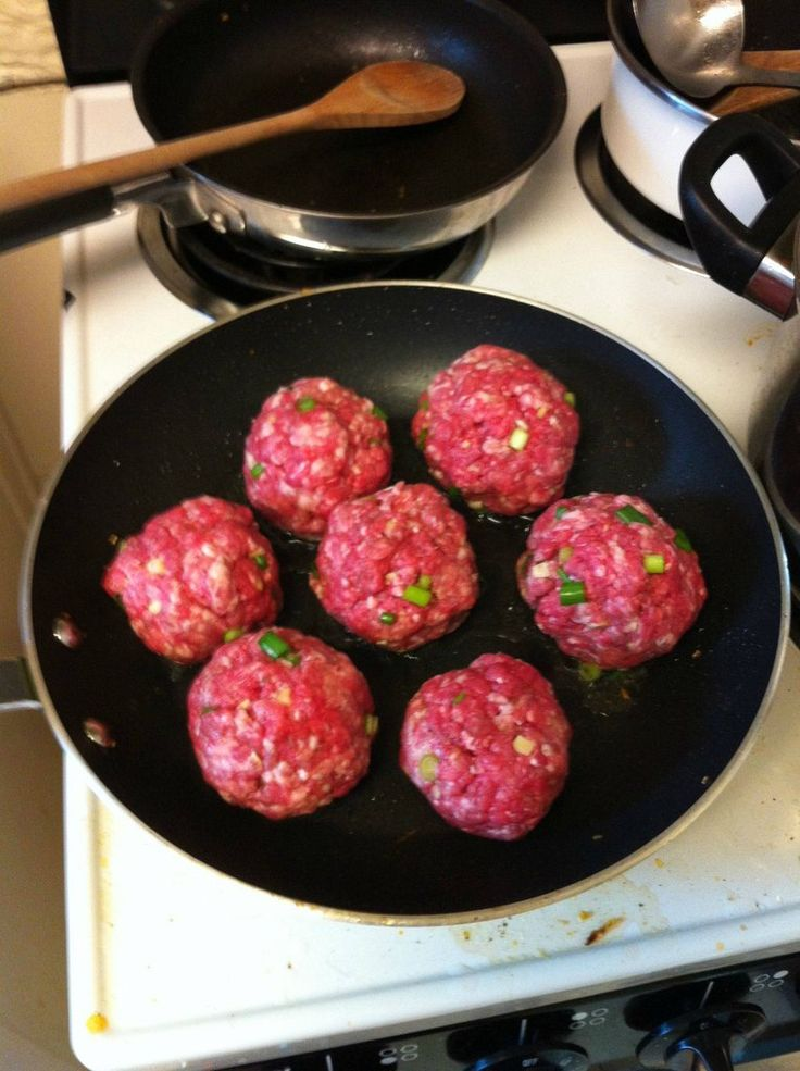 Gordon Ramsay Meatballs (try these with ground poultry turkey, .chicken, or duck