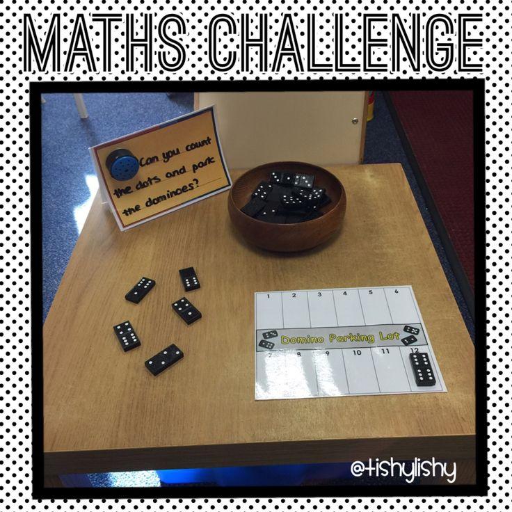 Maths challenge - domino parking.