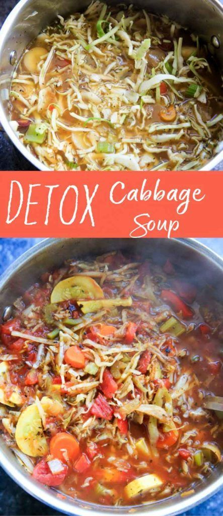 Whenever you need a break from over-indulging or simply want some lighter, healthier, veggie-packed meals, this detox cabbage soup is a great recipe to make. Customizable with non-starchy vegetables, herbs and spices, this soup will fill you up with nutrients! Vegan, gluten-free.