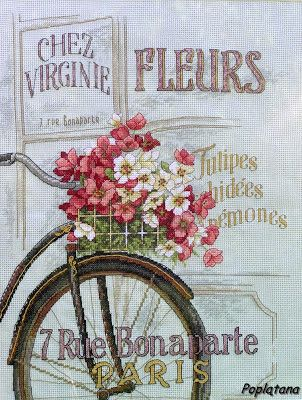 Poplątana: Paryski rower