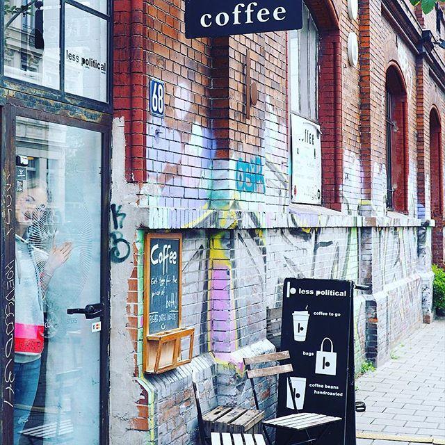 """Ein tolles kleines Cafe ist das """" Less Political """" im Schanzenviertel"""