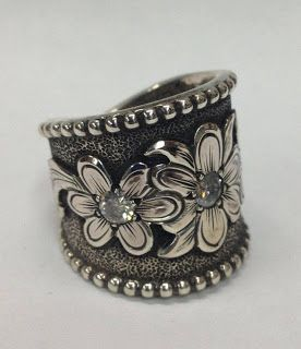 IN LOVE!!!!!!! Rodeo Tales & Gypsy Trails: Matt Litz Silversmith ~ WESTERN RINGS, FINE SILVER ENGRAVING