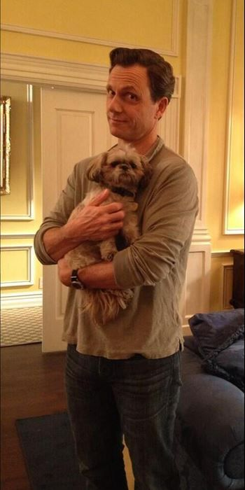 Tony Goldwyn POTUS and the first dog