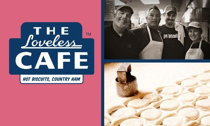 The @Loveless Cafe is going to be at the @James Beard Foundation House in New York on Valentine's Day. How perfectly lovely.