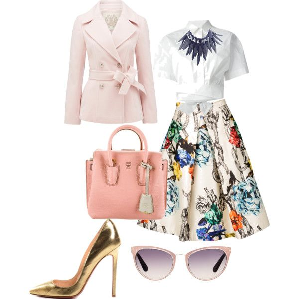 A fashion look from March 2015 featuring MSGM blouses, Forever New coats and TIBI skirts. Browse and shop related looks.