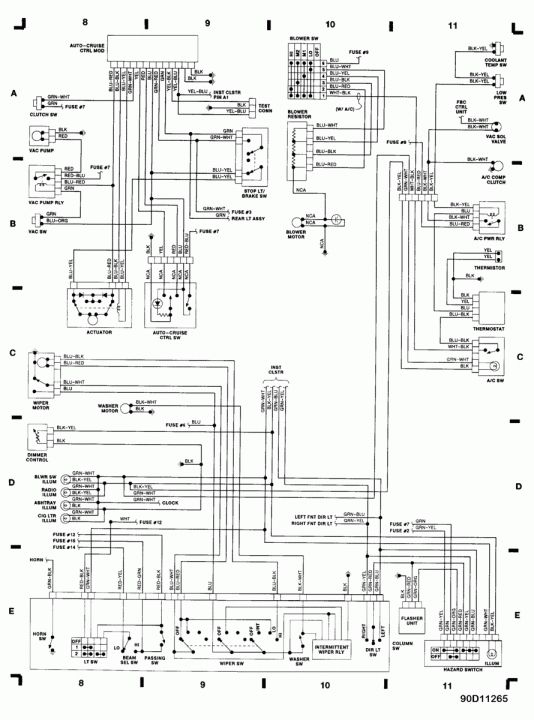 chevy celebrity ignition wiring diagram