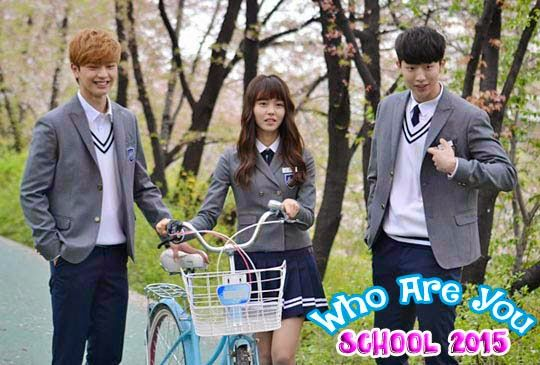 """""""Who Are You - School 2015"""" Set at a prestigious private high school in Gangnam, Seoul, South Korea. Eun-Byeol is a popular student at the private high school. She goes missing and returns, but she has lost her memory. She tries to find out the truth.(source: http://asianwiki.com/Who_Are_You:_School_2015)"""