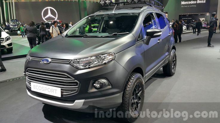 Ford EcoSport custom front three quarters left at 2015 Thailand Motor Expo