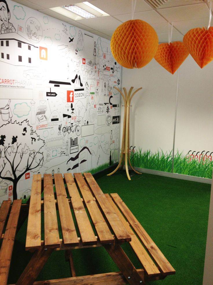 Our office is a fun place to work and this encourages a creative and innovative environment.