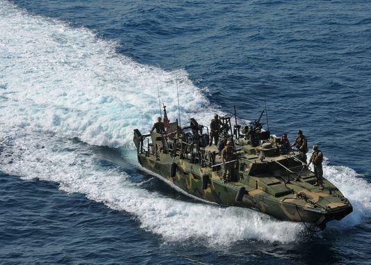 Deux navires de la marine américaine appréhendés par l'Iran