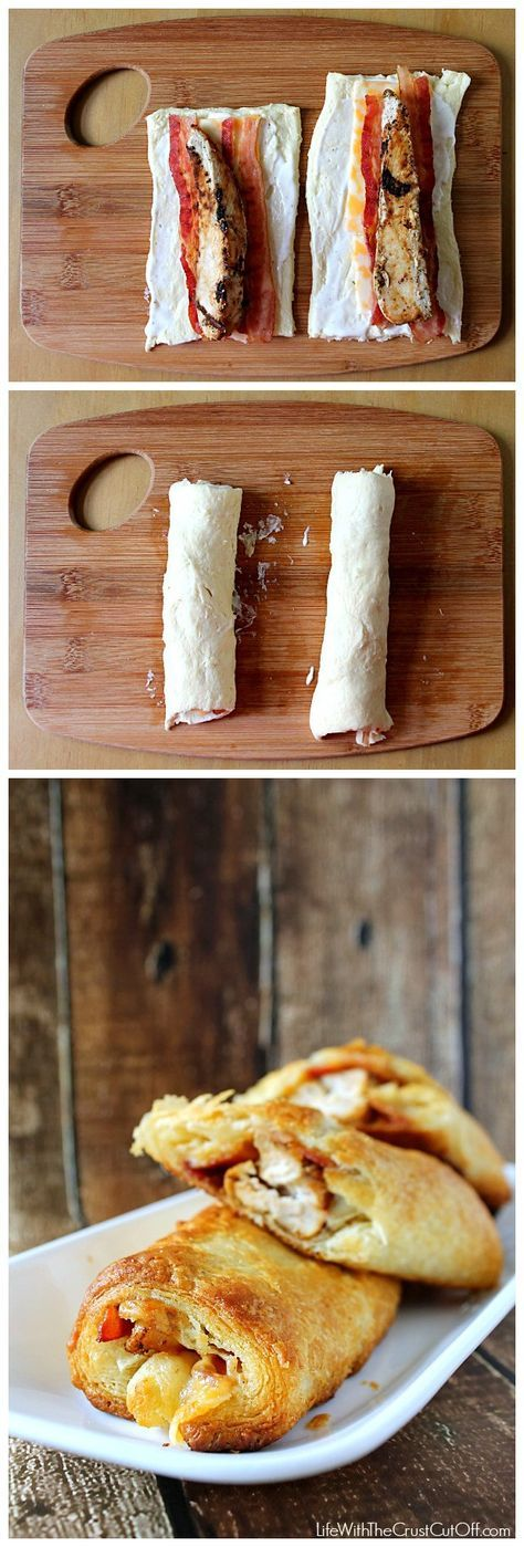 Ranch Chicken Club Roll-UpsFood Instructions | Food Instructions