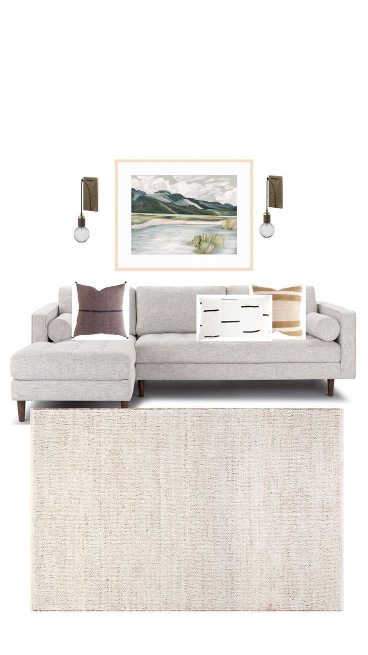Landscape Art Above the Couch – #abovecouch #art #…