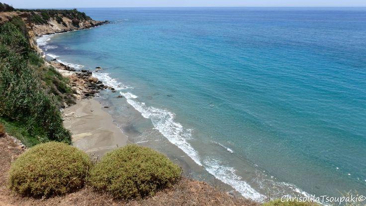 24/6/15: #Kritama_beach #Frangokastello #Sfakia #Chania #Crete #Greece www.livikoapartments.gr