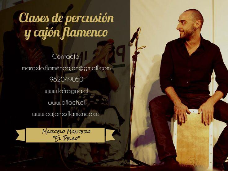 LA PERCUSION EN EL FLAMENCO. Marcelo Montero Clases de Cajon y Percusión
