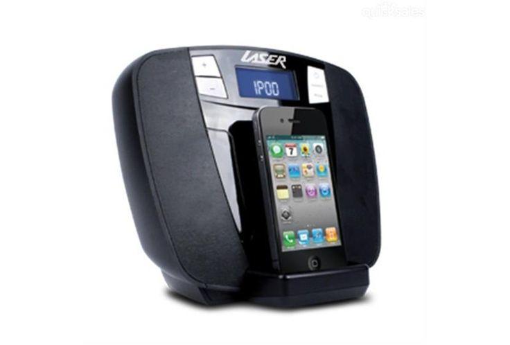 LASER Speaker Dock iPhone DAB, Radio & Alarm - $74.95 from TopBuy
