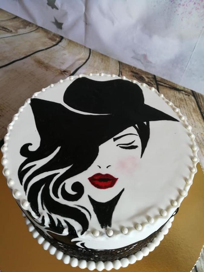силуэтная картинка торта святых