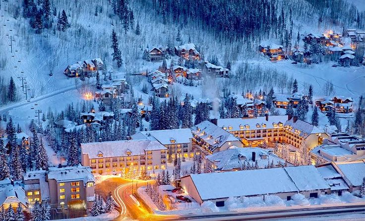 Vail, Colorado. Ive been here a few times, however I havent had the chance to hit the slopes but this is one of the most beautiful places in the US I have been to.
