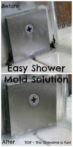 Are you trying to ignore those nasty, moldy corners in the shower? Ignore no more. This is an Easy Shower Mold Solution that you will be quite pleased with!