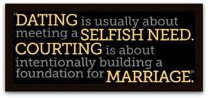 Christian dating vs worldly dating