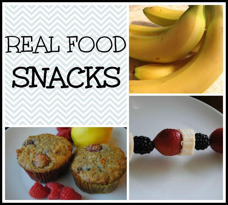 Real Food Snacks
