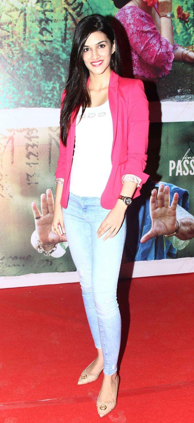 Kriti Sanon at the screening of 'Finding Fanny'.