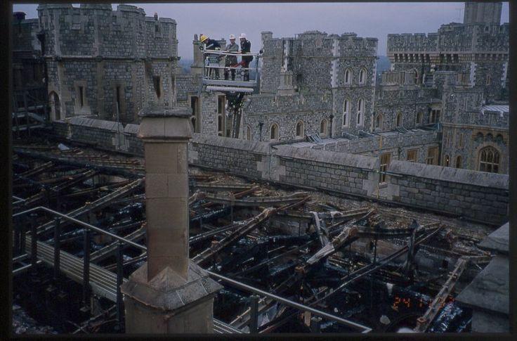 St Georges Hall Roof Castle Windsor Castle Windsor