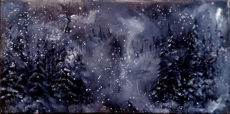 Midnight passage, Blizzard on Thompsen Pass