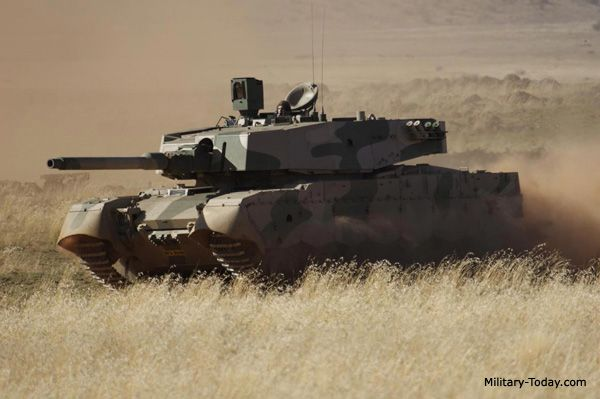 main battle tank | The Olifant Mk.2 main battle tank uses a number of components ...