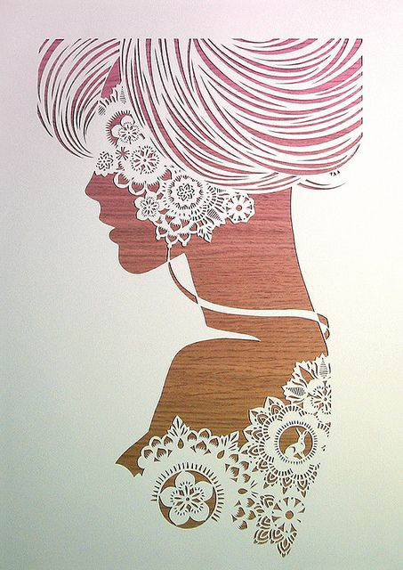 WR by Anatoly Vorobyev, via Flickr Cut paper artwork
