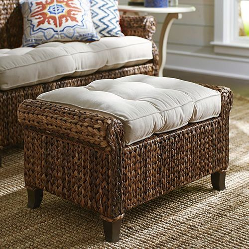 Wicker furniture can be used to make a casual, yet ultra-chic statement in both indoor and outdoor spaces.