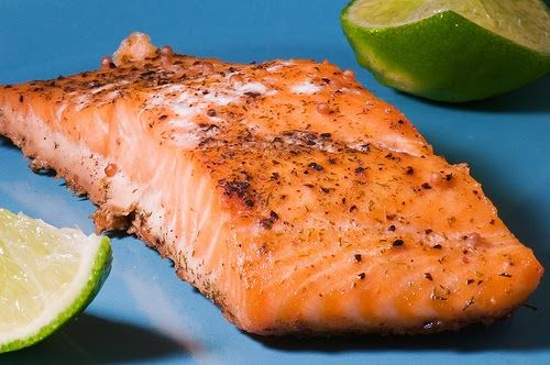 Pan Seared Salmon simple, quick and delicious.