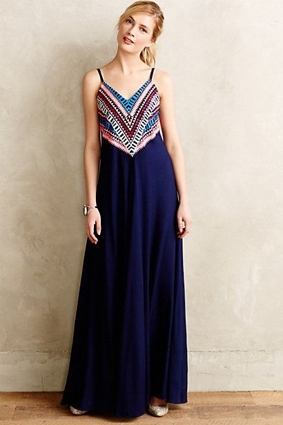Anthropologie PRISM POINT MAXI DRESS #anthrofave #marahoffman
