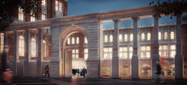 В лондонском музее открывается подземная галерея
