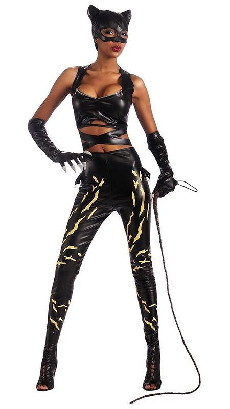 Comics Deluxe Adult Catwoman Costume Price 2451 Catwoman Halloween In 2019-9081