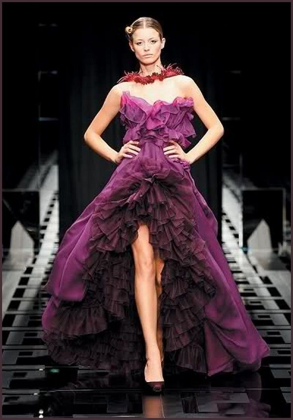 Anne Curtis-Smith Plum Dress Wedding