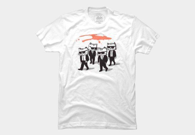RESERVOIR CATS Men's T-Shirt by gloopz