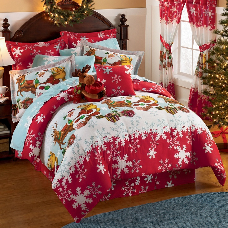 217 best Christmas Bedding & Decorations images on Pinterest ...