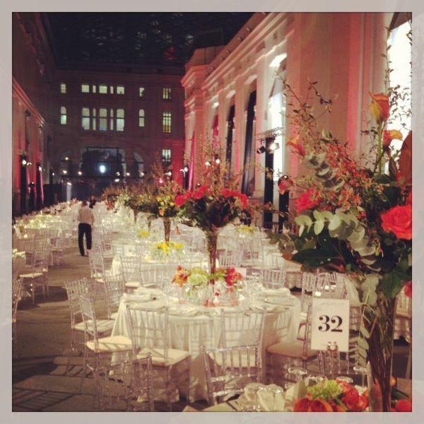 Decoración floral en los Premios de Moda Telva 2013 | Bourguignon Floristas