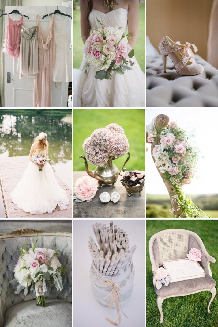 Beautiful Make Up Is Our Hallmark Wedding Color Palette Soft And