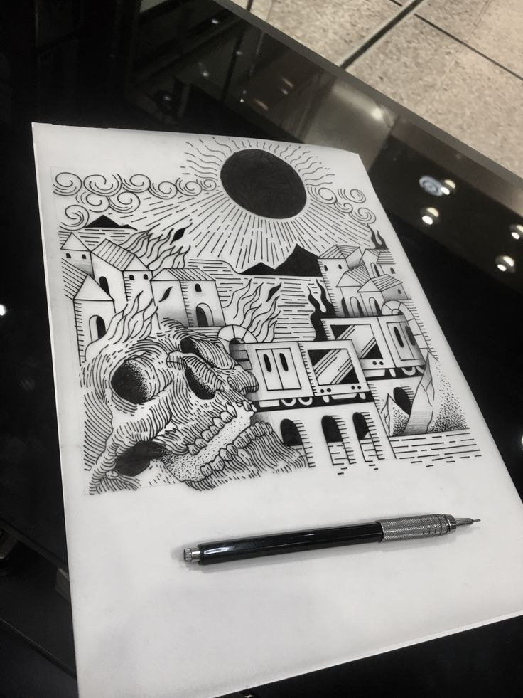 Design by @boss_667ttt at athens tattoo studio