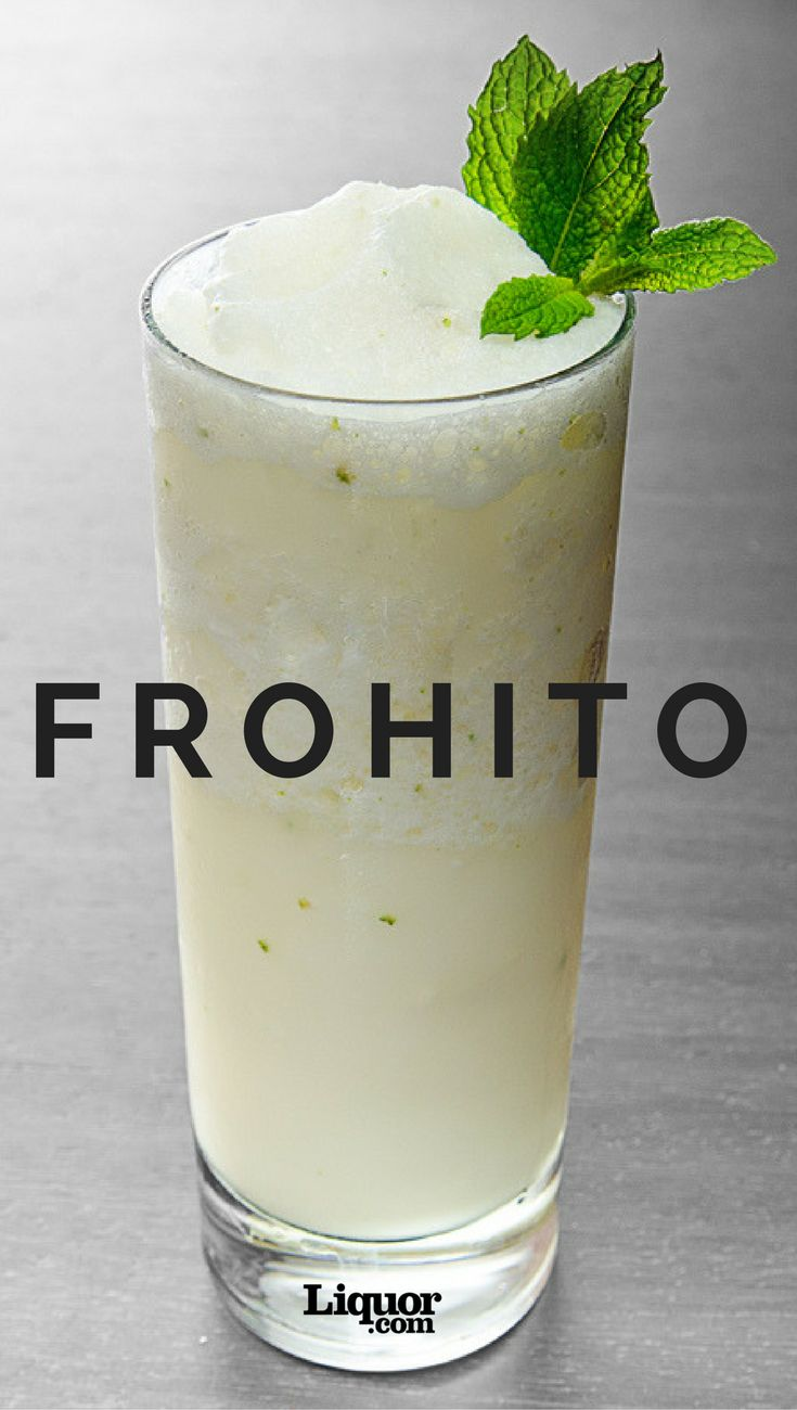 If you love the rum-classic Mojito, you're going to love its frozen sibling! Throw a classic Mojito in the blender to get this frozen tropical concoction.