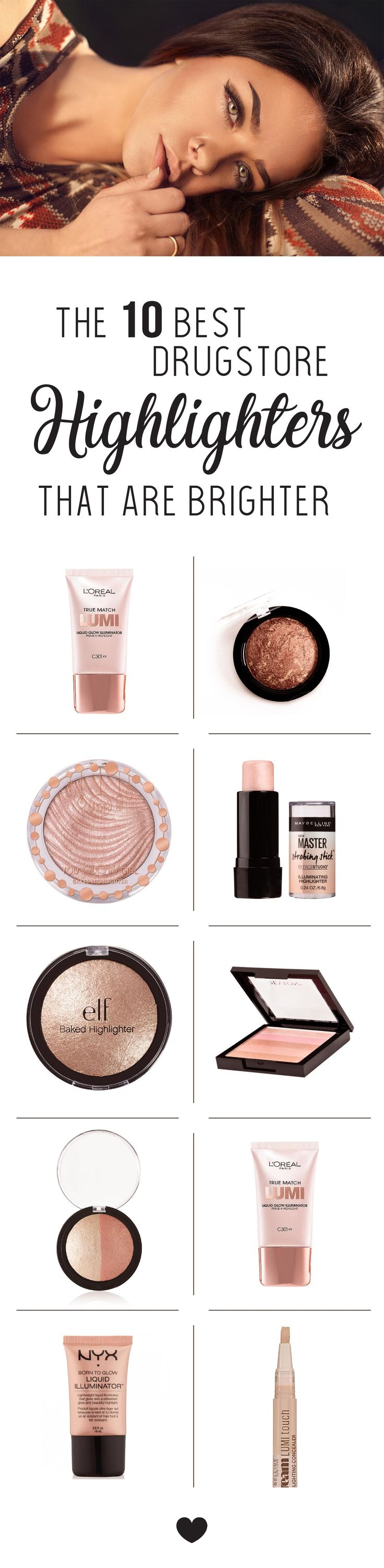 The 10 Best Drugstore Highlighters That Are Brighter Than Our Futures