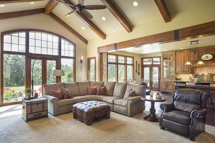 Top 25 best ranch homes ideas on pinterest for Ranch style open concept floor plans