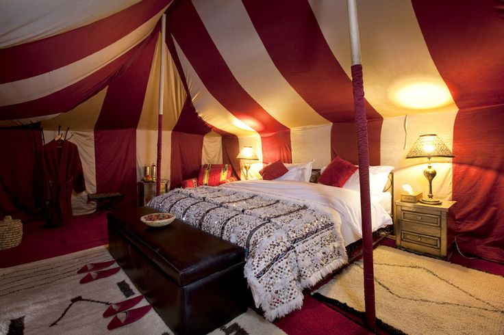 Gorgeous morocco sahara glamping tent little house in - Marocchine a letto ...