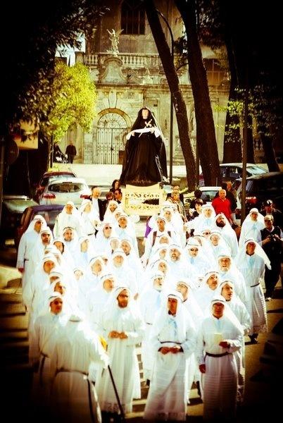 Religious Procession in Puglia