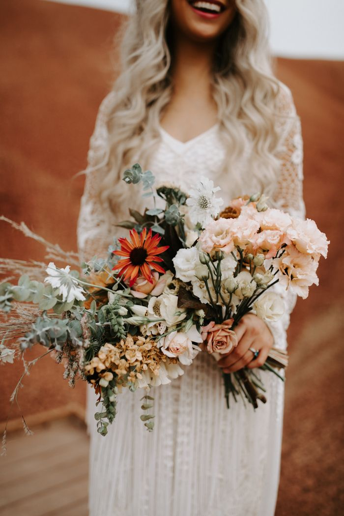 The Painted Hills In Oregon Gave This Boho Inspiration An Extra