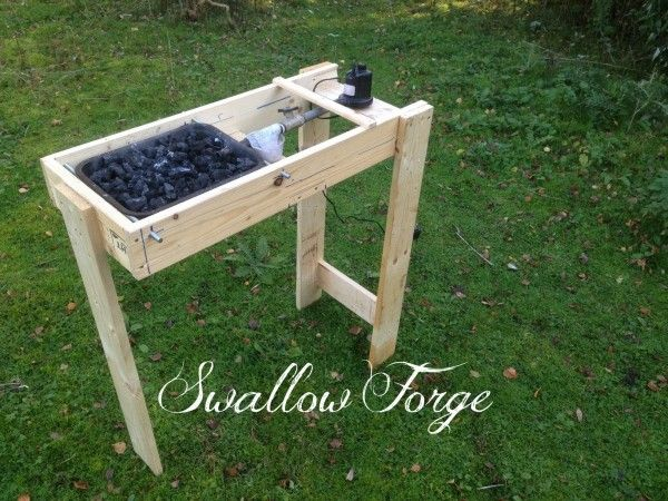 Building A Simple DIY Blacksmith's Forge - http://www.survivorninja.com/building-a-simple-diy-blacksmiths-forge/