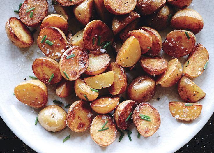 Crispy Salt-and-Vinegar Potatoes Recipe - Bon Appétit